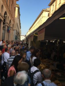"The ""multitudes"" exploring slow food producers on the streets of Turin"